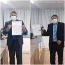 Vereadores são empossados pela Câmara Municipal de Esperantina